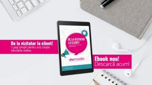 Ebook de la vizitator la client om de marketing
