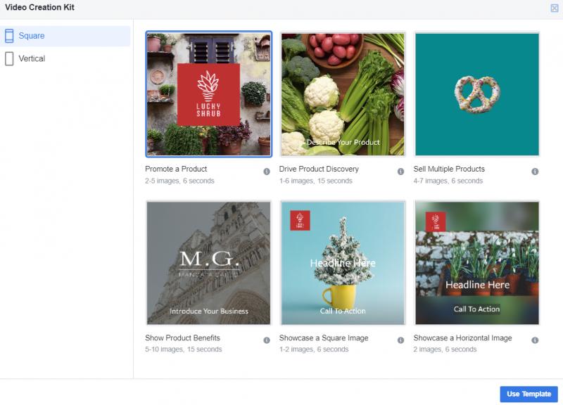 Video Creation Kit Facebook Ads