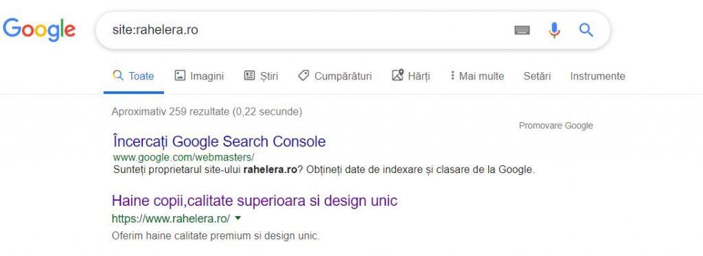 Indexare-site-Google